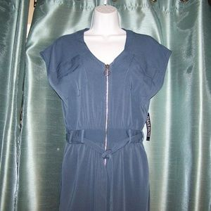 New York & Company Blue NWT Jumpsuit Size S